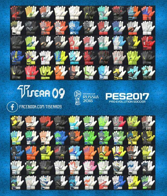 New Glove Pack HD (100 Gloves) PES 2017