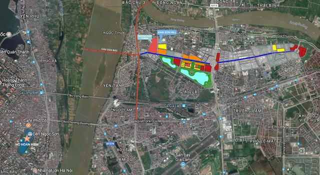 Vị trí khu đô thị Khai Sơn City