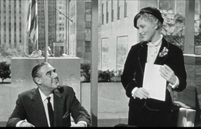 Judy Holliday and Paul Douglas in Scene From Solid Gold Cadillac Jean Louis Best Costume Academy Award