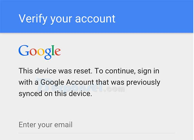Cara Reset Password LockScreen Android