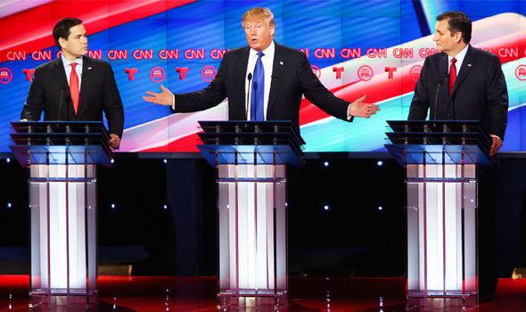 Trump é atacado por rivais Marco Rubio e Ted Cruz