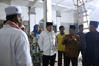 Bupati Muba Dodi Selesaikan Pembangunan Masjid Al-Mutaqin Teluk Kemang