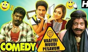 Vaayai Moodi Pesavum Tamil Movie Comedy | Dulquer | Nazriya | Robo Shankar | John Vijay