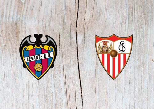 Levante vs Sevilla - Highlights 22 September 2018