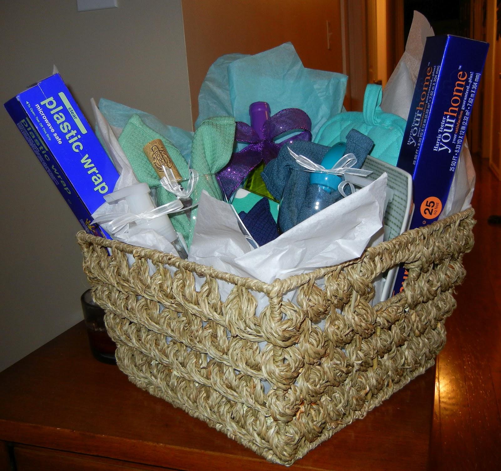 Libby Ribbons Housewarming Gift Basket
