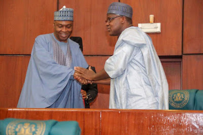 Fight Between Pro-Buhari and Pro-Saraki Senators, Reps