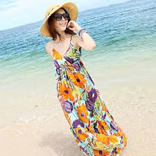 Model Dress Baju Pantai Wanita Modern Terbaru