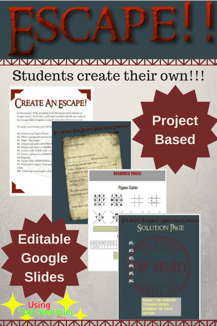 It is a picture of Witty Free Printable Escape Room Kit Pdf