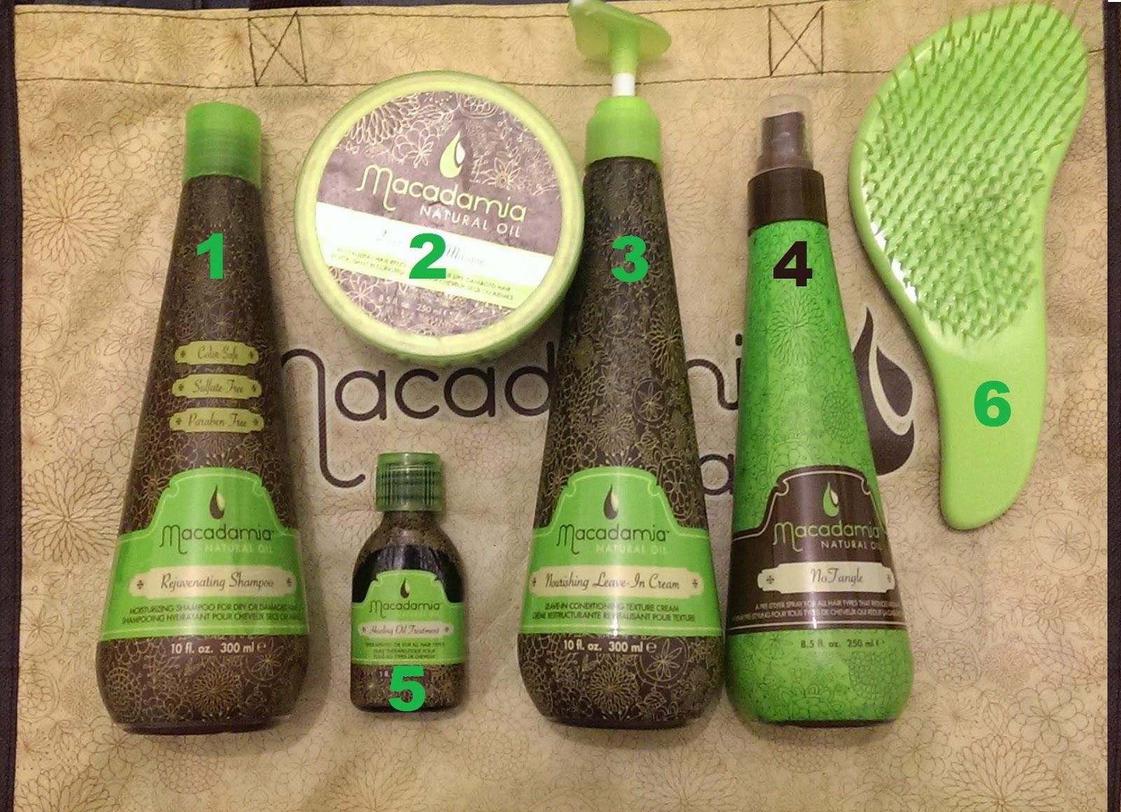 Soins capillaires Macadamia Natural Oil