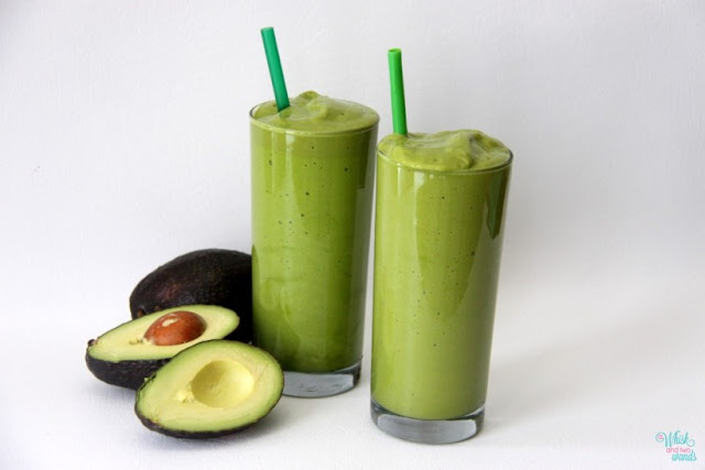 Avocado smoothie yummy