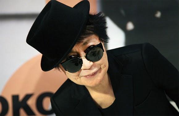 Yoko Ono : «On n'aura jamais la paix dans le monde.»