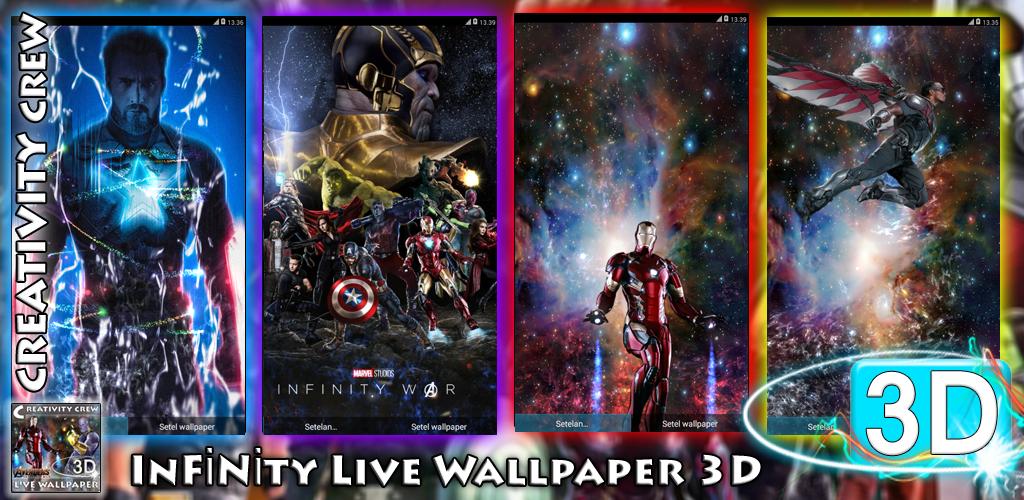 InFinity War Live Wallpaper 3D