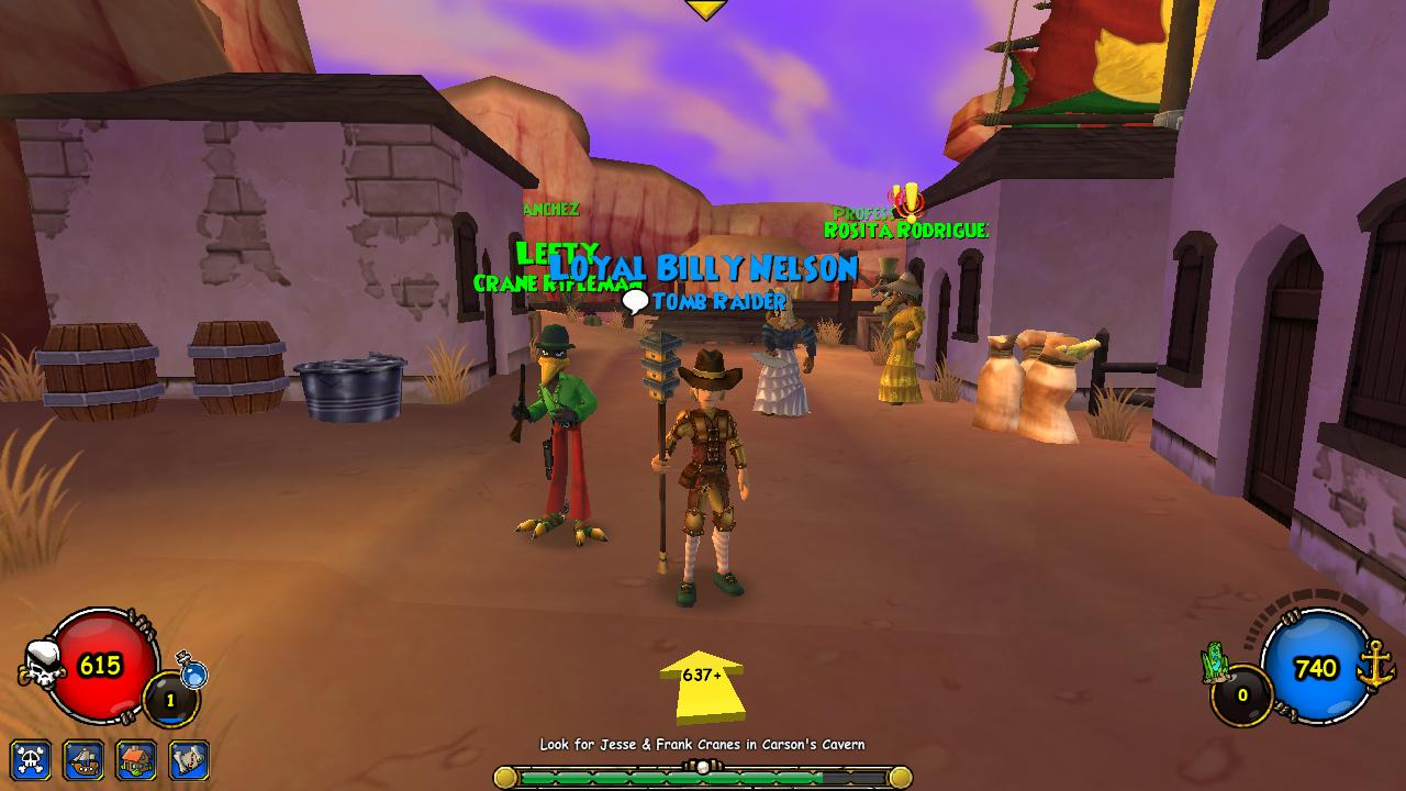 A day in the life of Sawyerl: Pirate101: Another companion