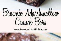 Brownie Marshmallow Crunch Bars