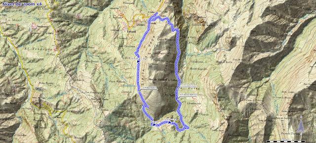 Mapa del Bosque de Cea