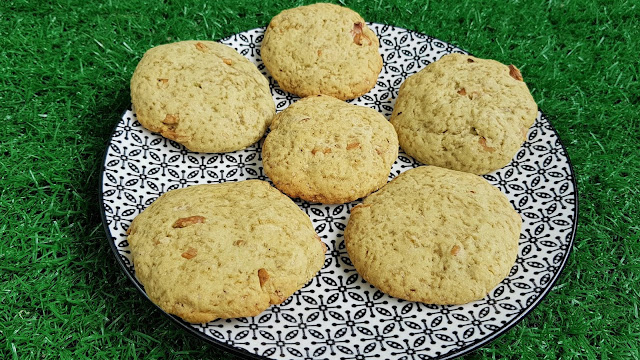Galletas veganas con té matcha