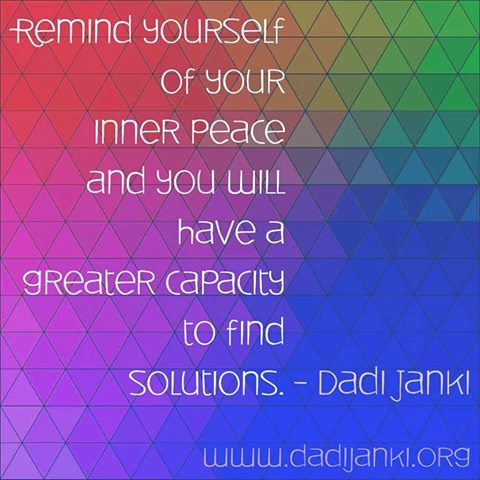 Janki dadi inner peace quotes