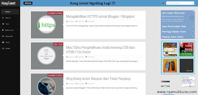 Blog Kang Ismet