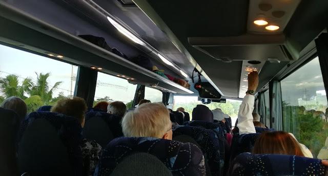 Busfahrt von Costa Maya nach Kohunlich