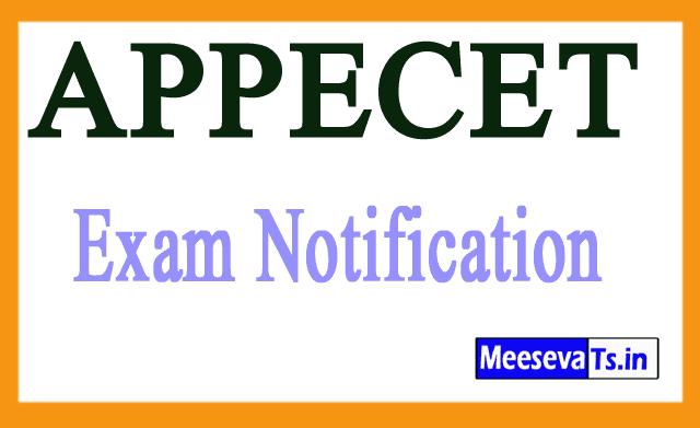APPECET Exam Notification