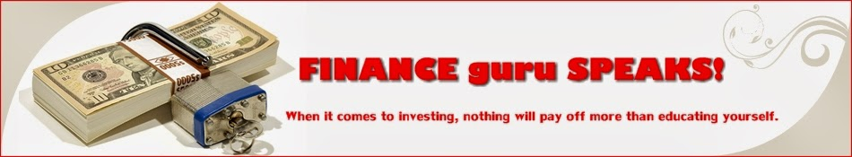 FINANCE guru SPEAKS! - Banking, Personal Finance, Investments, Mutual Funds