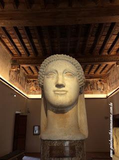 Palácio Altemps, Museu de Roma Acrolito Ludovisi