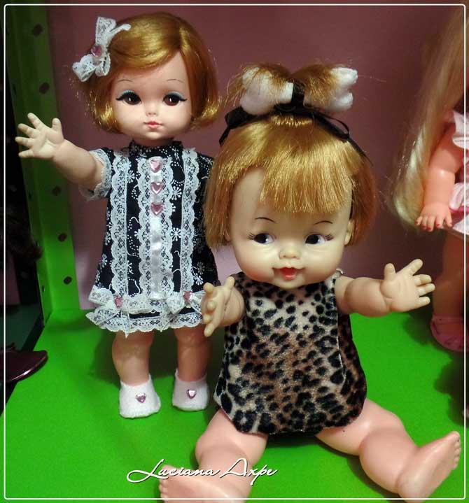 bonecas Pedrita e Ternurinha anos 60