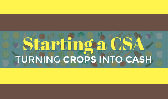 Starting a CSA: Turning Crops Into Cash