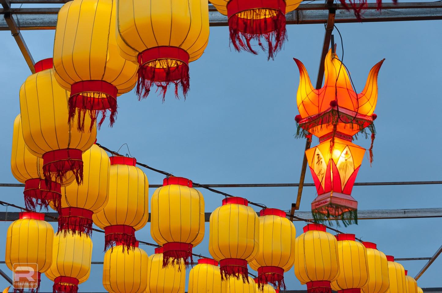 Lielās Ķīnas laternas: Visuma zīmes - 7