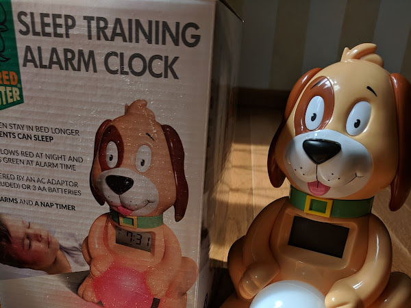 Teach Your Little One When to Wake with Big Red Rooster's Sleep Training Alarm Clock