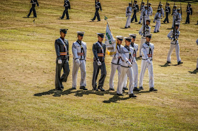 PMA Cadets Marching