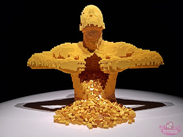 The art of the brick no Museu Histórico Nacional