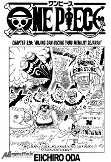 Cover One Piece 820