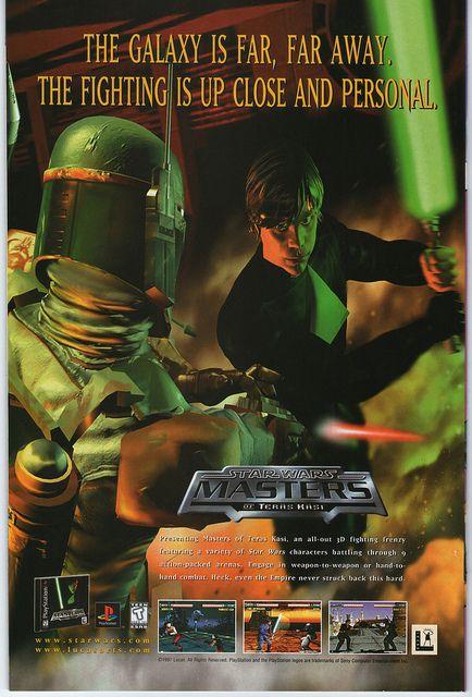 Star Wars Masters of Teras Kasi