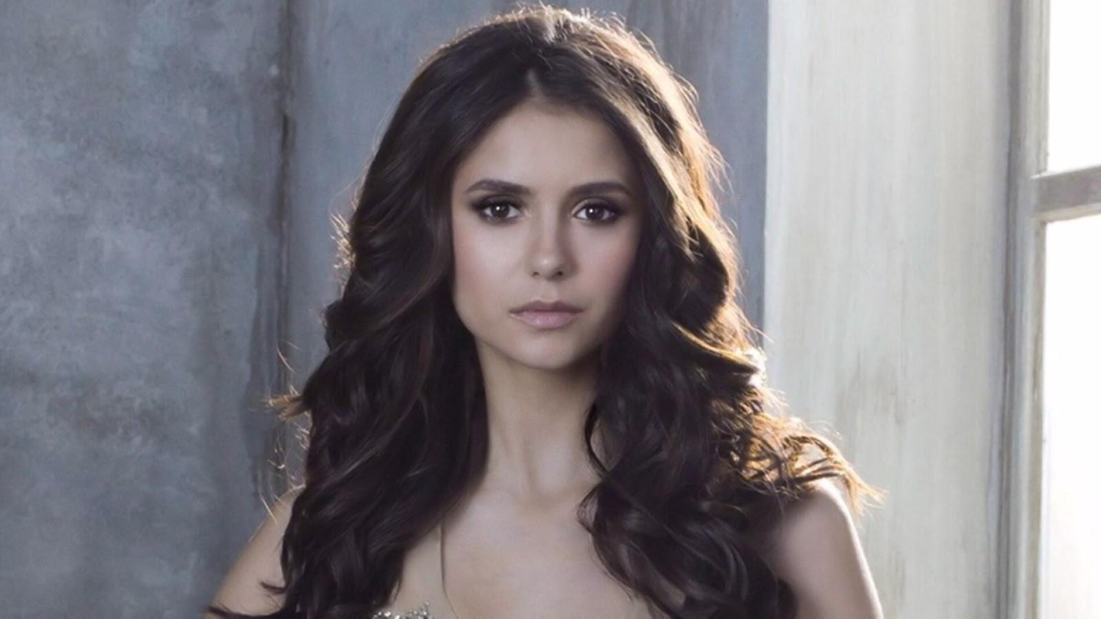 Nina Dobrev The Vampire Diaries Actress Hd Wallpaper  Hd -4877