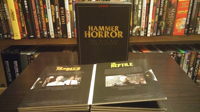 Hammer Horror: The Blu-ray Collection from Australia