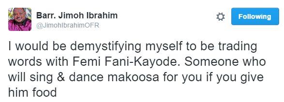 Billionaire Jimoh Ibrahim Takes Fani-Kayode To The Cleaners