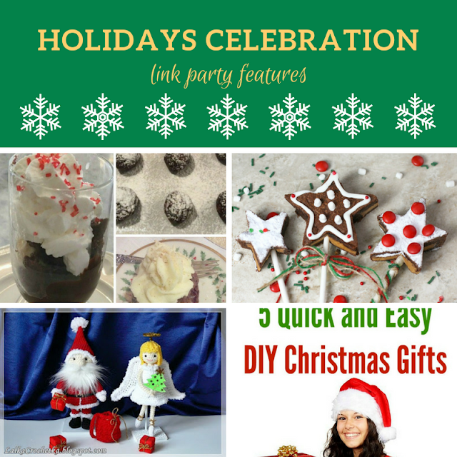 Holidays Celebration Link Party #4 - the features