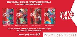 Cadastrar Promoção Kit Kat 2018 Latas Colecionáveis Sua Arte Na Lata