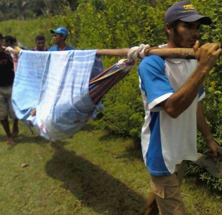 No interior do Maranhão redes funcionan como Ambulância