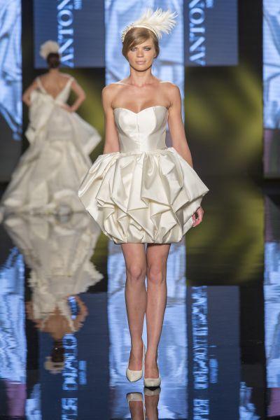 vestidos de novia cortos y juveniles