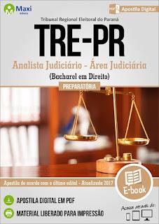 Apostila TRE PARANÁ - Analista Judiciário