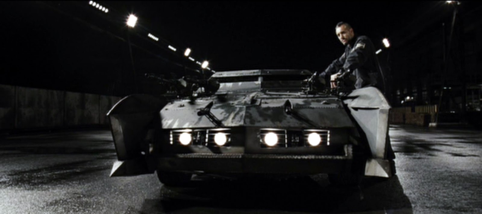 just a car guy: cars from the movie death race, a step closer to