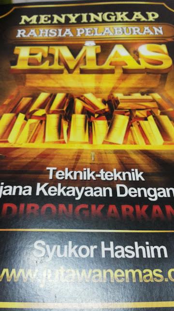 Pengalaman Menghadiri Seminar Percuma Public Gold