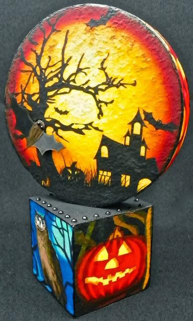 halloween tabletop decoration lisa fulmer