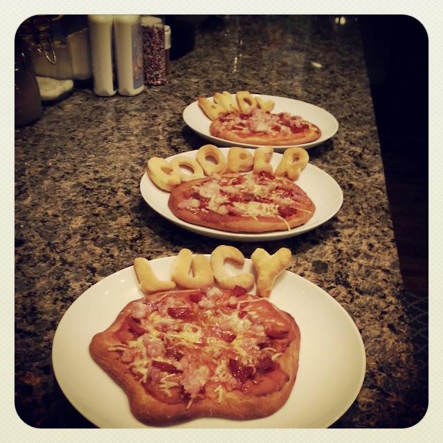 Receta au pair: Minipizzas personalizables