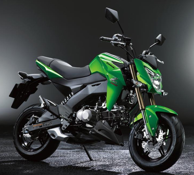 The New Kawasaki Z125/Pro | Biker 80