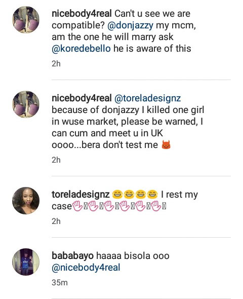 I killed another girl because of you - Lady professes crazy love for Don Jazzy