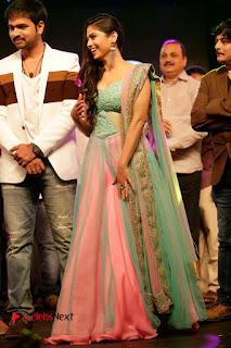 Actress Naina Ganguly Stills in Long Dress at Vangaveeti Audio Launch  0120.JPG