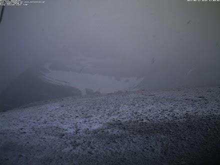 Χιόνισε στον Όλυμπο